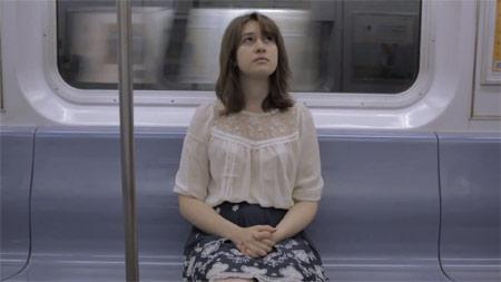 draguer dans metro