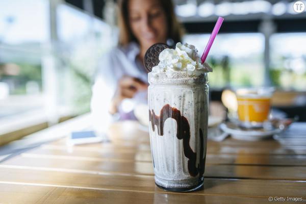 Preparer un milkshake